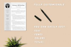 Project Manager Resume Template With Photo Product Image 5