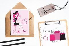Paris Je T'Aime graphics and illustrations Product Image 4