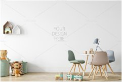 Kids Frames & Wall Mockup Bundle - 5 Product Image 3