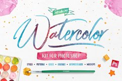 Watercolor Kit For Photoshop Product Image 1