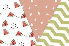 Watermelon Seamless patterns Product Image 4