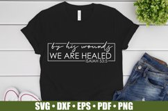 By His Wounds We Are Healed SVG files for Cricut, Easter SVG Product Image 2