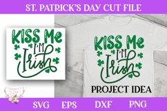 St. Patrick's Day SVG - Kiss Me I'm Irish Product Image 1