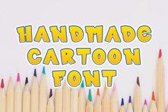 Kids font / handmade font / children's color font. Product Image 1