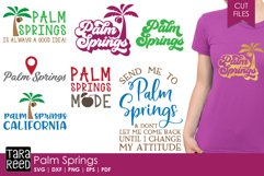 Palm Springs SVG and Cut Files for Crafters Product Image 1