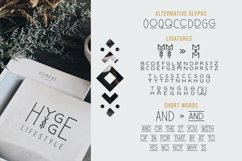 Runista - Thin Line Geometric Font Product Image 6
