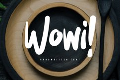 Wowi Brush Font Product Image 1
