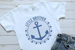 Nautical Little Brother Sibling Design Product Image 2