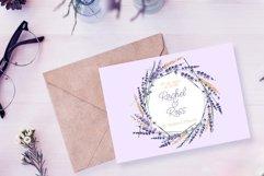 Lavender Watercolor Set Clipart Product Image 5