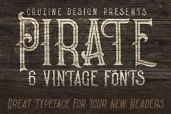 Pirate- Vintage Style Font Product Image 4
