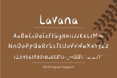 Lavana - Handwritting Font Product Image 5