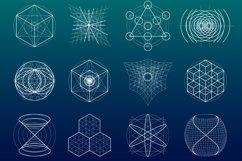 {Sacred Geometry} Symbols + Meshes Product Image 4