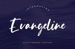 Evangeline Modern Script Product Image 1