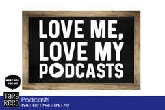 Podcasts - SVG and Cut Files for Crafters Product Image 5