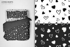 Loving Hearts Seamless Patterns Product Image 3