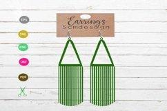 Earrings SVG,earrings template earrings cut file, earrings Product Image 1