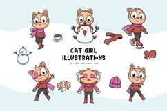 Cat Girl Illustrations Product Image 1
