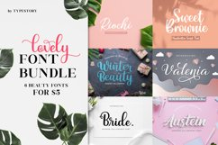 Lovely Font Bundle by Typestory Product Image 1