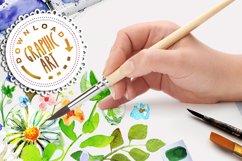 Watercolor Bouquet clipart Product Image 5