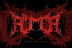 Zanaz - Deathmetal Font Product Image 5