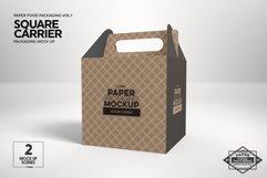 VOL.1 Food Box Packaging MockUps Product Image 4