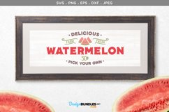 Delicious Watermelon - svg & printable Product Image 1
