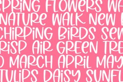 Spring Poppy - A Quirky Handwritten Font Product Image 5