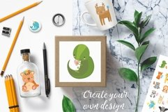 Alphabet animals. Kids alphabet. Baby animals. Letters png Product Image 3