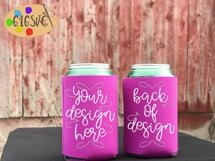 Can Cooler Mockup Bundle 33 Color Choices Product Image 12