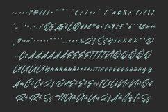 Amores Brush Signature Handmade Font Typeface Product Image 3
