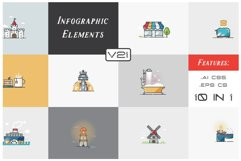 Infographic Elements Bundle (3 in 1) 3