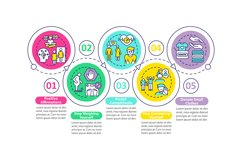 Body positivity tips vector infographic template Product Image 1