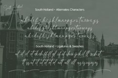South Holland Signature font Product Image 9