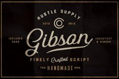 Gibson Script Extras - font Product Image 1