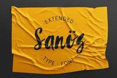 Sanös Extended Script Font Product Image 1