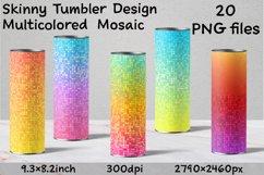 Skinny Tumbler. Skinny Tumbler Sublimation. Tumbler Design Product Image 1