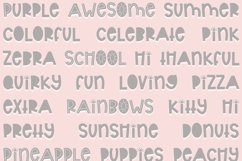 Sunshine   Bold Quirky Hand Written Font Product Image 3