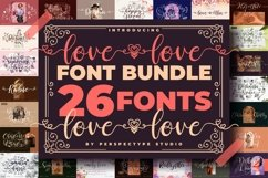 Love love Font Bundle from Perspectype Studio Product Image 1