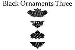Black Ornaments Three Product Image 2