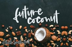 Future Coconut - A Thick Brush Font Product Image 1