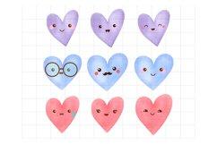 Kawaii Heart Emoticons Product Image 1