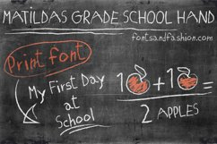 Matildas Grade School Hand_Print Product Image 1