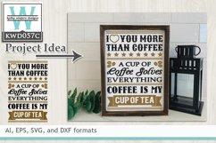 BUNDLED Coffee Cutting Files KWD057 Product Image 4