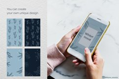 Abstract Winter Social Media Stories Layout in modern style Product Image 6