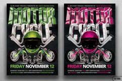 Motorcycle Flyer Template Product Image 3