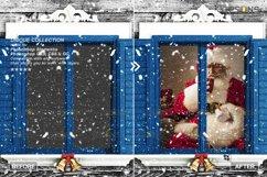 Window Frames Overlays Christmas Freeze Holiday photoshop Product Image 3
