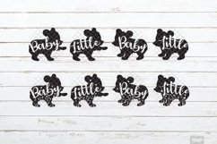Baby Bear SVG Little Cub in SVG, DXF, PNG, JPEG Product Image 2