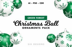 48 Christmas Ball Ornaments Pack 6 Colors Product Image 6