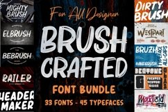 BRUSH CRAFTED Font Bundles Product Image 1