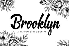 Brooklyn Script Product Image 1